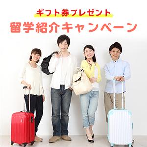 留学紹介キャンペーン