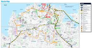 Bus link map