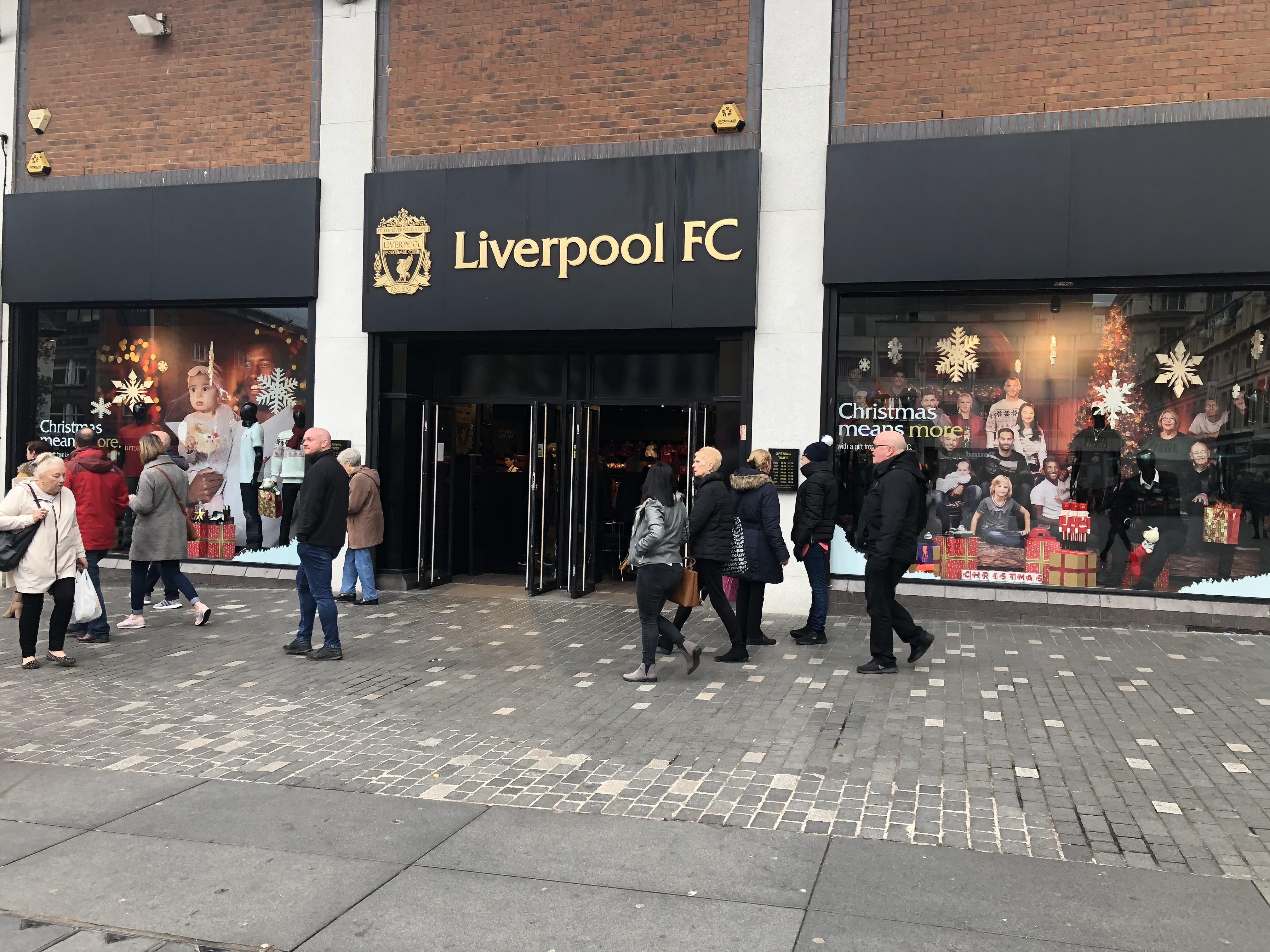 リバプールFC shop