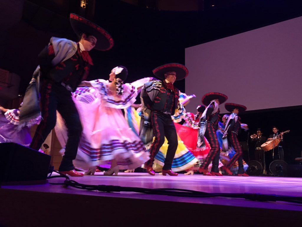 ホストファミリーと行ったメキシコのショー
