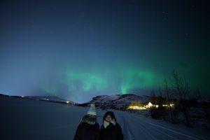 留学した生徒さんと友達でアイスランドへ
