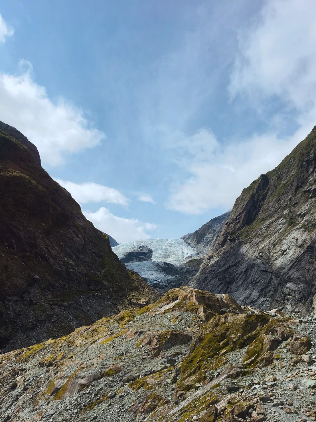 氷 フォックスグラシア(氷河)