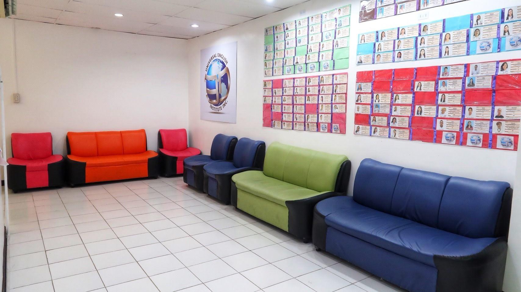 Sofa near the office