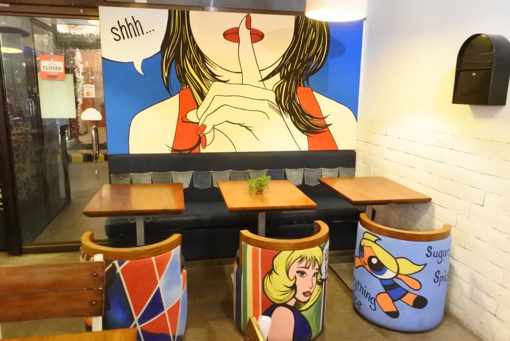 Tazza(Cafe in Tsai hotel)