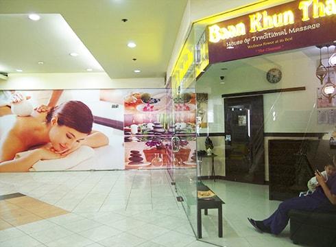 Thai massage in JY mall