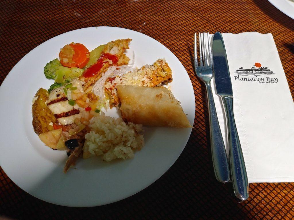 フィリピンでの食事