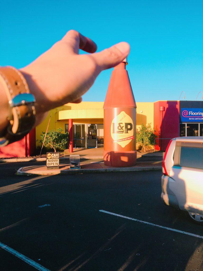 L&Pビックボトル 遠近法