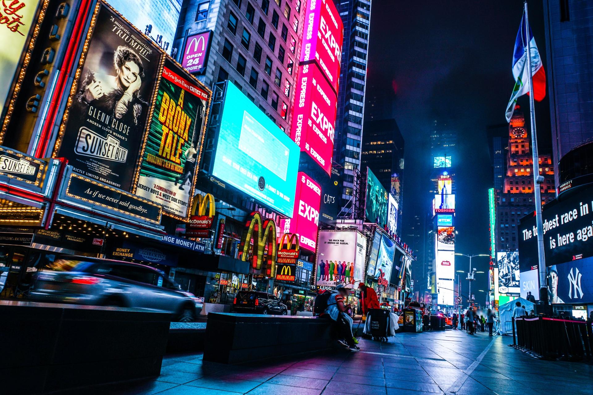 ニューヨーク街並み4
