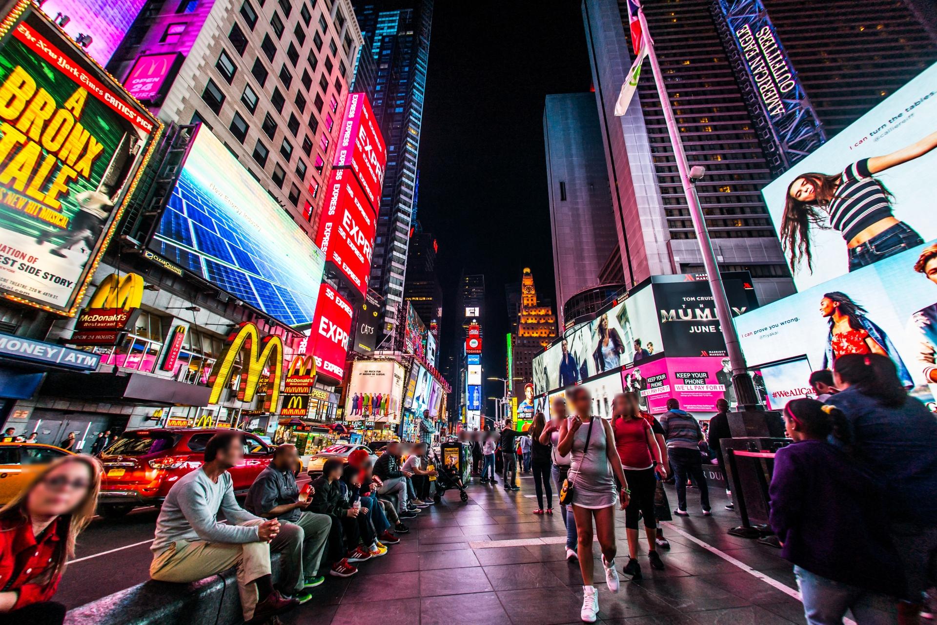 ニューヨーク街並み3